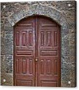 Mosque Doors 11 Acrylic Print