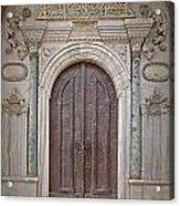 Mosque Doors 13 Acrylic Print