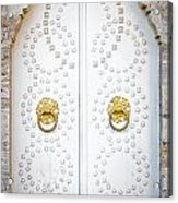 Mosque Doors 14 Acrylic Print