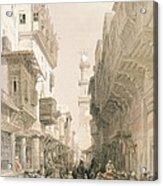 Mosque El Mooristan, Cairo, From Egypt Acrylic Print