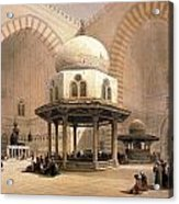 Mosque Of Sultan Hassan Acrylic Print