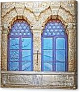 Mosque Windows 3 Acrylic Print