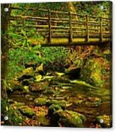 Moss Bridge Acrylic Print