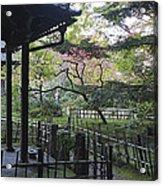 Moss Garden Temple - Kyoto Japan Acrylic Print