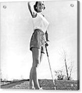 Most Beautiful Golfer Of 1957 Acrylic Print