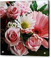 Mostly Pink Acrylic Print