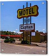 Motel Capitan Acrylic Print