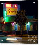 Motel Grand Acrylic Print