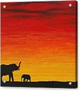 Mother Africa 1 Acrylic Print