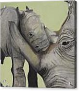 Mother And Baby 1 Acrylic Print