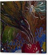 Mother Bird - 1985 Acrylic Print