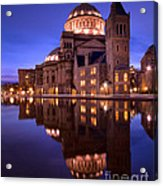 Mother Church Boston Acrylic Print