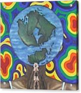 Mother Earth The Beginning Of Time Acrylic Print