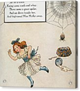 Mother Goose, 1915 Acrylic Print by Granger