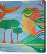 Mother Nature Acrylic Print