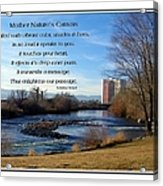 Mother Natures Canvas Acrylic Print