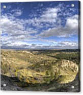 Mother Nature's Hole Acrylic Print