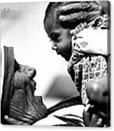 Mother Teresa Holds Baby Acrylic Print
