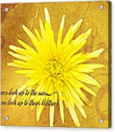 Mother's Day Flower Acrylic Print