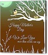 Mother's Nest Acrylic Print