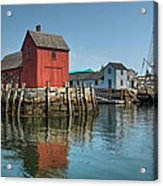 Motif #1 And The Pirate Ship Formidable Acrylic Print