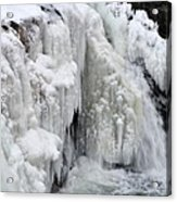 Motion Frozen In Ice Acrylic Print