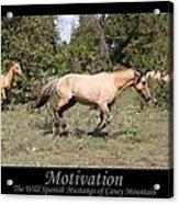 Motivation Acrylic Print