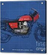 Moto Guzzi 850 Le Mans 1976 Acrylic Print