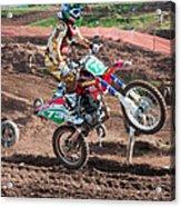 Motocross Rider Acrylic Print