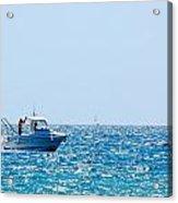 Motorboat Acrylic Print