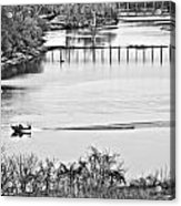 Motorboat Ride Acrylic Print
