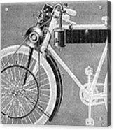 Motorcycle, 1898 Acrylic Print