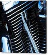 Motorcycle Engine Acrylic Print