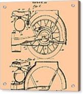Motorcycle Patent 1925 Acrylic Print