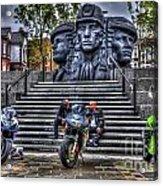 Motorcycle Rally 4 Acrylic Print
