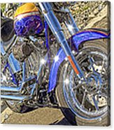 Motorcycle Without Blue Frame Acrylic Print