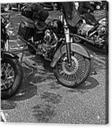 Motorcycles Acrylic Print