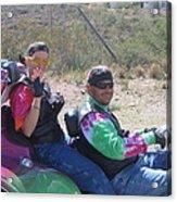 Motorcyclists Helldorado Days Parade Tombstone Arizona 2004 Acrylic Print