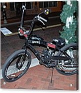 Motorized Bicycle Acrylic Print
