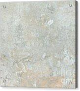 Mottled Beige Cement Acrylic Print