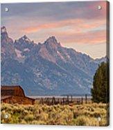 Moulton Barn - Grand Teton National Park Acrylic Print