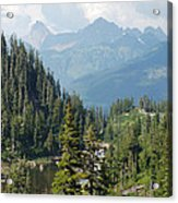 Mount Baker Area Washington Acrylic Print