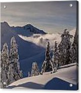 Mount Baker Snowscape Acrylic Print by Mike Reid