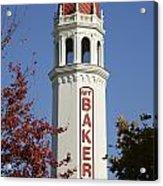 Mount Baker Theater Tower Bellingham Acrylic Print