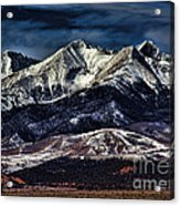 Mount Blanca Acrylic Print