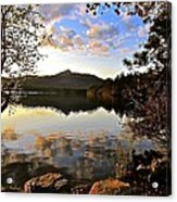 Mount Chocorua At Dusk Acrylic Print