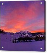Mount Crested Butte 2 Acrylic Print