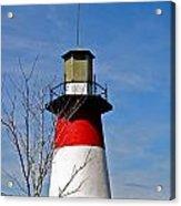 Mount Dora Lighthouse Close Up Acrylic Print