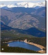 Mount Evans And Echo Lake Acrylic Print