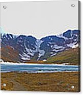 Mount Evans And Summit Lake Acrylic Print
